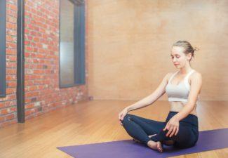 How to meditate, meditation pose